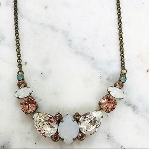 Sorrelli Sweet White Magnolia Statement Necklace